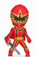 Red Mystic Ranger in Power Rangers Dash