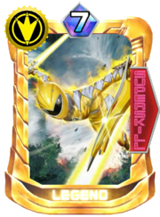 AbareYellow Card in Super Sentai Legend Wars