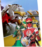 Mighty Mammoth Zord Megazord Madness