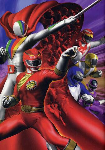 File:Gaoranger vs super sentai poster.jpg