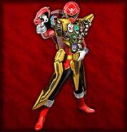 Gokai Red Gold Mode (Dice-O)