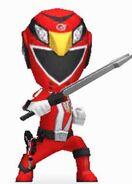 Red RPM Ranger in Power Rangers Dash