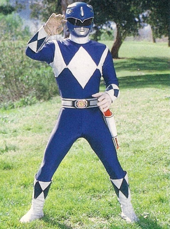 Evil MMPR Blue Ranger