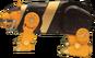 Yellow Bear Ninjazord