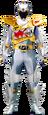 Dino Super Drive Silver Ranger
