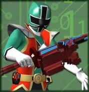 Hyper Shinken Green (Dice-O)