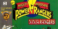 Mighty Morphin Power Rangers: Ninja Rangers Issue 1