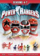 Power Rangers Seasons 4-7