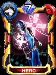 DekaBlue Card in Super Sentai Legend Wars