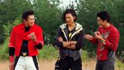The Red Sentai Tyranno Rangers