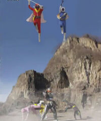 First-Gen Gokai Change