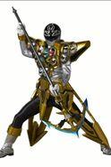 Silver Super Megaforce Ranger Gold Mode Scanner App Assets