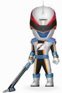 Mercury Overdrive Ranger in Power Rangers Dash