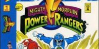 Mighty Morphin Power Rangers (Marvel) Vol. 1 Issue 1