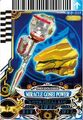 GoseiBlue Miracle Power card
