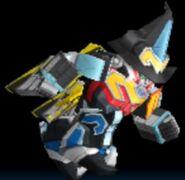 Titan Megazord in Power Rangers Dash