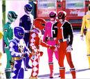 Dekaranger Stage Show at Return of Bakryuu Sentai Abaranger at Tokyo Dome City