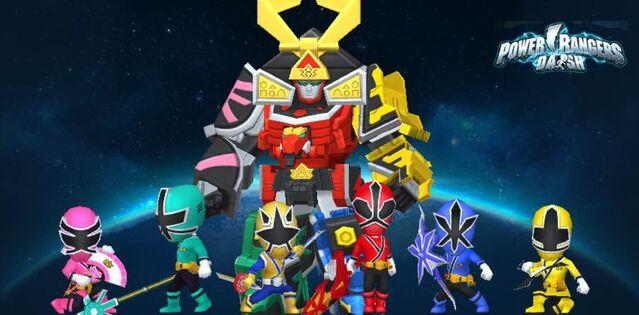 File:Power Rangers Samurai & Super Samurai in Power Rangers Dash.jpg