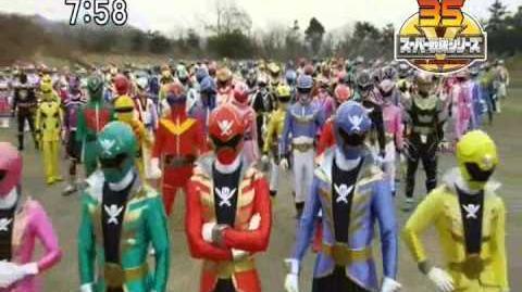 Power Rangers-Ultimate Alliance Fan made opening