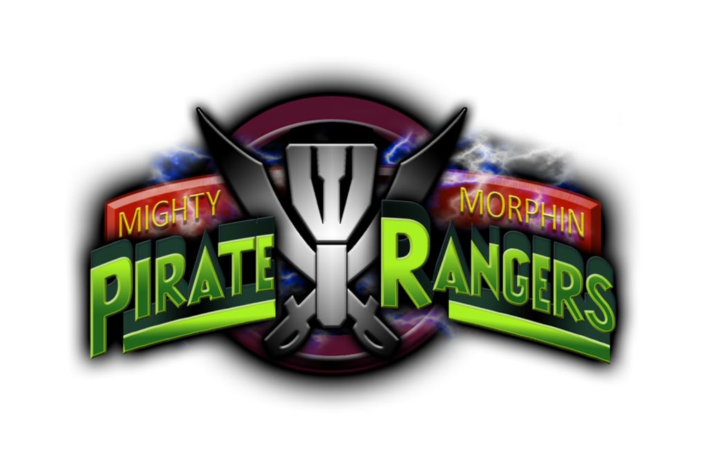 Image - Mighty morphin pirate rangers logo by joeshiba ...