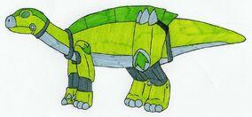 Iguanozord by MCsaurus