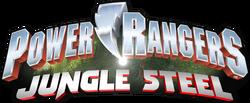 Power Rangers Jungle Steel logo