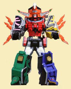 Beetle Blaster Megazord