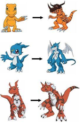 Digivolutions