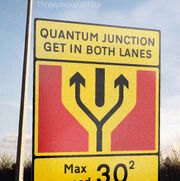 Quantum-junction-ahead