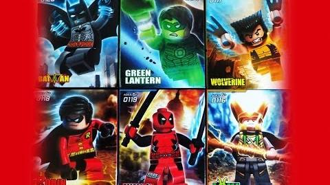 Lego DC VS Marvel Superheroes DeCool Bootleg Set 2 Review