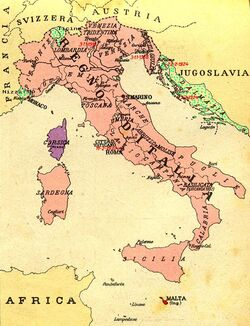 Kingdom of Italy and claims