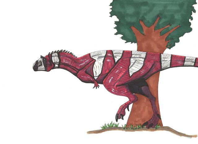 File:Majungasaurus crenatissimus by hellraptor-d2ucrzh.jpg