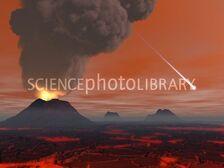 C0065609-Prehistoric Earth, artwork-SPL