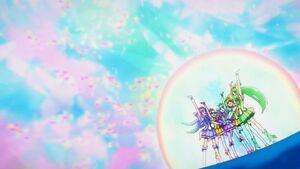 Rainbow healing main