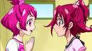 Sharuru looking at Mana