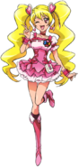Pretty Cure All Stars DX2 Cure Peach pose