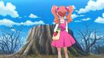 PCDS The sakura tree is just a stump in Ichigozaka