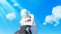 Blue hugs Mirage