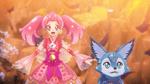 PCDS Sakura Shizuku see the Cures