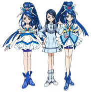 Karen Minazuki / Cure Aqua