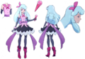 Happiness Charge Pretty Cure! Hosshiwa pose2