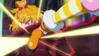 MTPC movie - Cure Mofurun freeing Mirai