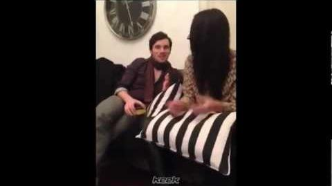 Shay Mitchell and Ian Harding on PLLayWithShay 01 08 2013