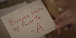 A's Message 5x25