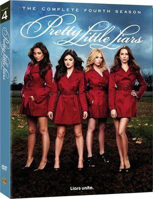Pretty Little Liars Season 4 DVD Cover