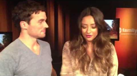 Shay Mitchell & Ian Harding - Get Ready For Pretty Little Liars Mid Season Finale