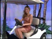 Amber Lancaster on Golf Cart-2