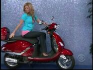 Amber Lancaster on Motor Scooter-4