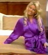 Gabrielle in Satin Sleepwear-1