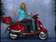 Amber Lancaster on Motor Scooter-5